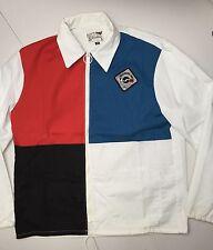 SAH Vtg Silverline Moorhead Man Color Block Pullover Jacket