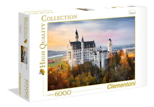 Trefl 6000 Piece Jigsaw Puzzle Neuschwanstein
