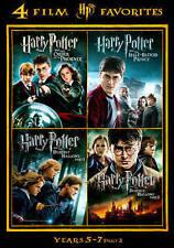 Harry Potter: Years 5-7, Part 2 - 4 Film Favorites (DVD, 2014, 4-Disc Set)