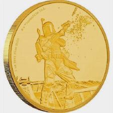 Star Wars Classic: Boba Fett 1oz Gold Coin  2017 Niue!!!