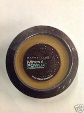 MAYBELLINE MINERAL POWER PRESSED POWDER DARK NEW.