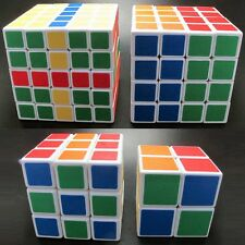 Value Pack shengshou 2x2 3x3 4x4 5x5 White twist puzzle Spring Speed magic Cube
