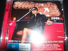 Ultimate R & B 2008 –Various 2 CD  + DVD Rihanna Kanye West Ashanti Alicia Keys