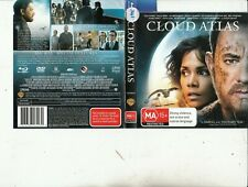 Cloud Atlas-2012-Tom Hanks-[172 Minutes-Blu-Ray]-Movie-DVD