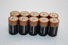 10x DURACELL 1.5 Volts Alkaline Battery Size D LR20 MN1300 DURALOCK COPPERTOP