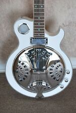 "NEW  ""Custom Hand Made"" ACOUSTIC/ELECTRIC CONCERT JAZZ RESONATOR GUITAR"