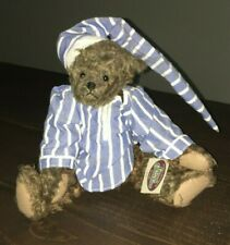 The Ganz Cottage Willy Teddy Bear Jointed Vintage Movable Head Cc420