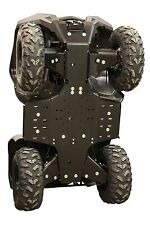 IB 2016 2017 Yamaha 700 Grizzly HDPE plastic FULL skid plate set Iron Baltic