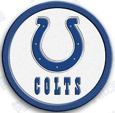 INDIANAPOLIS COLTS   iron on 100% embroidered PATCH NFL FOOTBALL PATCHES