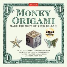 Money Origami Kit: Make the Most of Your Dollar [Origami Kit with Book, DVD, 60