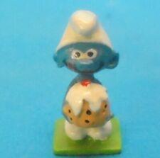Schlümpfe MINI Metall Figur 2155 TORTEN SCHLUMPF schtroumpf gateau Firma Pixi