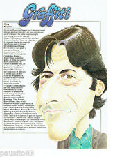 PUBLICITE ADVERTISING 086  1980  Graffiti  King Kramer   Dustin Hoffmann