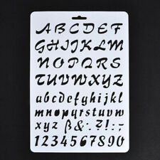 Lettering Stencils, Letter and Number Stencil, Painting Paper Craft Alphabet 7R5
