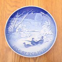 Jule After 1970 Bing & Grondahl B&G Christmas-Pheasants in the Snow @ Christmas