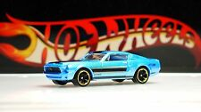 Hot Wheels / '68 Ford Mustang Shelby GT500 / Blue / 2015