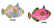 #3410B 3410C Tropical Fish Embroidery Iron On Applique Patch