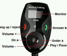 Car Kit handsfree Bluetooth FM Transmitter Modulator MP3 Player+LCD Display