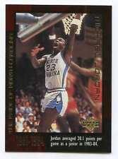 1999 UPPER DECK BASKETBALL THE EARLY YEARS #10 MICHAEL JORDAN VERY NICE