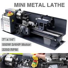 550W Mini tour  180x350mm machine de Tour de Métal de Haute Précision fraisage