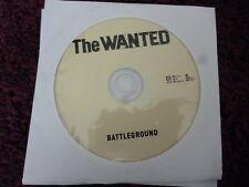 The Wanted - Battleground (CD) INVINCIBLE*LAST TO KNOW*GLAD YOU CAME**DISC ONLY*