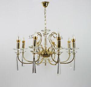 Stainless Steel Chandelier, Luxury Lighting Fixture Chandelier, 8 lights, Decor