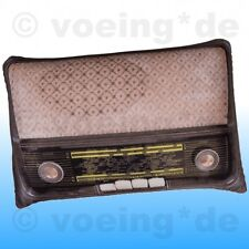 Deko-Kopfkissen Kissen im Retro-Radio-Look Retrokissen Radiokissen 50er Jahre