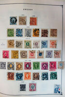 Sweden Loaded 1800s to 2005 High-Value Stamp Collection