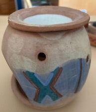 Handmade Oil Diffuser Burner Aromatherapy Seminario Ceramics Pottery Art