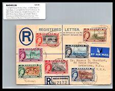 GP GOLDPATH: BAHAMAS COVER  1954 TO U.S.A. CV394_P14