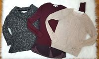 Ann Taylor Loft womens clothing lot size small / extra small Sweater top shirts