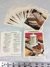 """Recipe Cards Betty Crocker Card Library - """"G"""" - COME FOR COFFEE 27 Replacements"""
