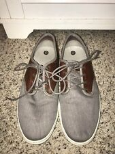 Vans OTW Men's Gray and Brown Leather Low Top Oxfords in Size 9.5-EUC