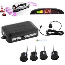 4 Parking Sensors LED Display Car Auto Backup Reverse Radar System Alarm Kit WT