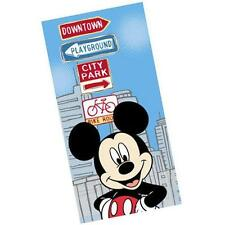 Mickey Mouse - City Scene 100% Cotton Beach / Bath Towel - New & Official Disney
