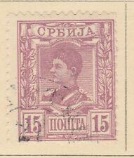 A5P57F114 Serbia 1890 15p used