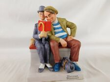 """The Interloper"" Norman Rockwell Figurine Danbury Mint have more pieces 1980"