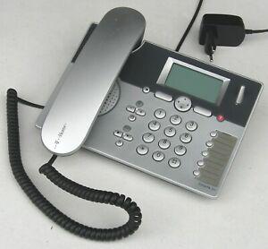 Telekom Sinus PA 101 silber ▪ Komforttelefon analog, DECT, Anrufbeantw.,AB