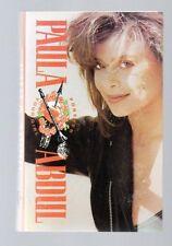 Forever Your Girl by Paula Abdul (Cassette, 1988, Virgin Records)