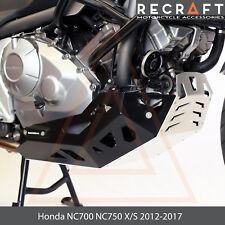 Honda NC700 NC750 X/S 2012-2017 Engine Guard Skid Plate with Sliders ver. 1