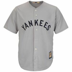 *NEW* OFFICIAL MAJESTIC MLB NEW YORK YANKEES COOPERSTOWN ROAD BASEBALL JERSEY