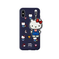 Hello Kitty Secret Mirror Jelly Slim Bumper Case For Samsung Galaxy S7 S7 Edge