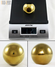 M10 X 1.5 STAINLESS STEEL HEAVY WEIGHTED GOLD ROUND SHIFT KNOB BALL FOR HONDA