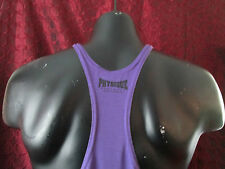 Physique Bodyware Soft Y-Back Stringer tank top Purple (L)
