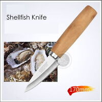 Oyster Shellfish Safety Knife Blade Shell Clam Opener Stainless Steel