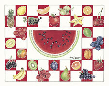 """Watermelon"" Note Cards-pack of 10 & envelopes, by artist, Julie Hammer"