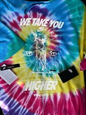 Nwt Nike Nsw Tie Dye Loose Fit Shirt Sz Large 100% Authentic Bq1031 100