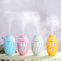 LED USB Humidifier Aroma Diffuser Air Mist Maker Ultrasonic Sterilizer Purifiers