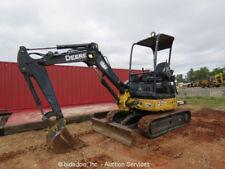 2007 John Deere 27D Mini Excavator Rubber Tracks Backhoe Aux Hyds Blade bidadoo