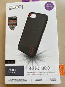 Gear4 Battersea Black iPhone case fits iPhone 6/6s/7/8