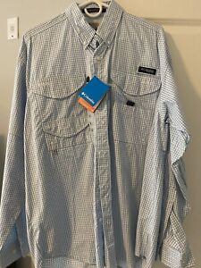 Columbia Men's PFG Super Bonehead Classic™ Long Sleeve Shirt - Size Medium